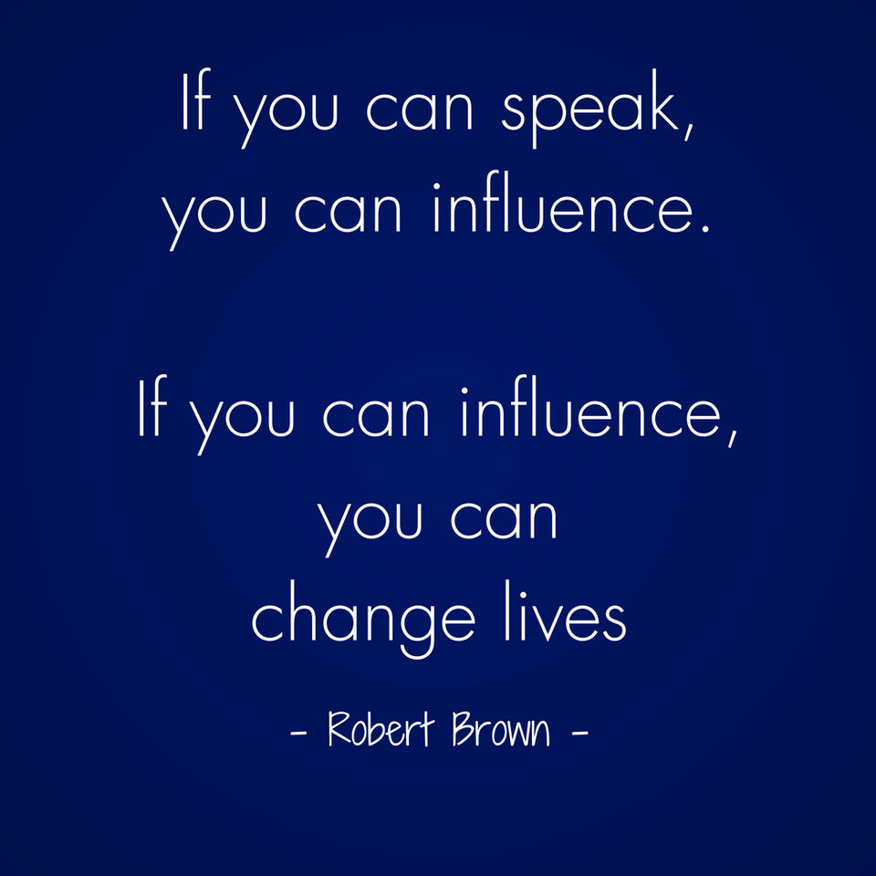 Abundant Entrepreneur - Robert Brown - Speak and Influence