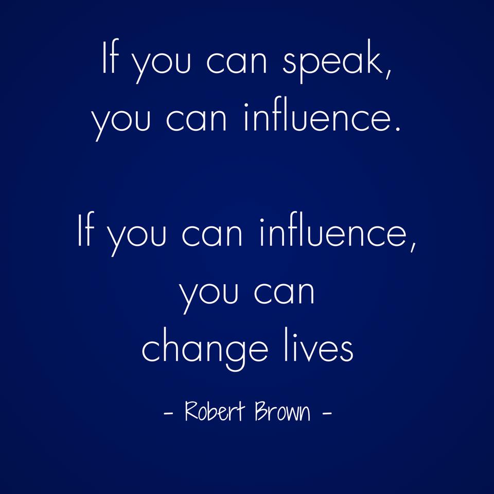 Abundant Entrepreneur - Robert Brown - Speak and Influence