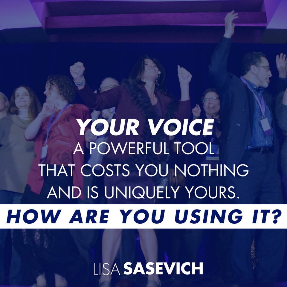 Abundant Entrepreneur - Lisa Sasevich - Your Voice